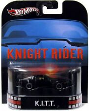 Hot Wheels Knight Rider HW Retro Entertainment K.I.T.T. Die-Cast Car [Damaged]