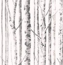 Koala Wallpaper White Frost Birch Trees Forest Magical Peel Stick Double Roll