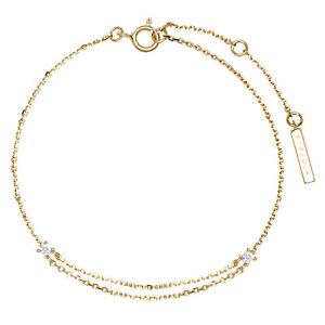 PDPAOLA PU01-074-U - Nia-Goldarmband, 925 Silber vergoldet