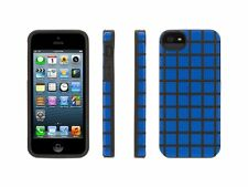 Griffin Hard Shell Meshups Case Cover Resilient Silicone For iPhone 5 / 5S BLUE