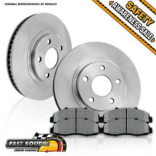 Front 278 mm Brake Rotors and Metallic Pads FORD ESCAPE MERCURY TRIBUTE MARINER