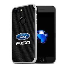 iPhone 7 Plus Case, Ford F-150 PC+TPU Shockproof Black Carbon Fiber Texture