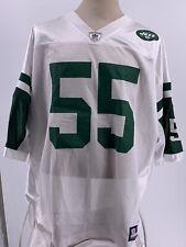 NFL JETS Equipment Jersey Reebok 3XL Eckerson #55