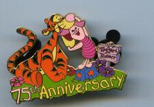 New ListingDisney Auctions Winnie The Pooh 75th Anniversary Tigger & Piglet Pin Le 100