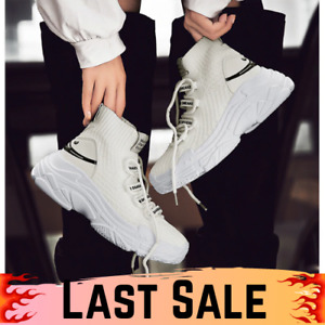 High White Training Shoes For Men Sneakers Style 2020