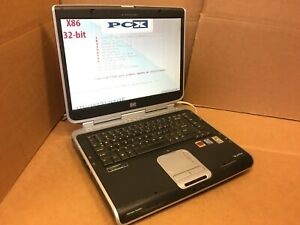 HP Pavilion ZV5000 (PP2200)  Laptop P4 3.20GHz 256MB RAM, NO HDD, FOR PARTS ATI