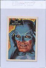"1966 A&BC BATMAN ""Grim Realization"" #7 Vintage Superhero Card"