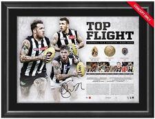 Dane Swan Signed #36 Top Flight Retirement Lithograph PRINT Framed OFFICIAL AFL