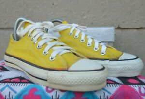 Converse All Star 80's Vintage Rare Canvas Deadstock OG MADE IN USA 6 NWOB