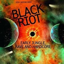 Soul Jazz Records Presents - Black Riot: Early Jungle, Rave and Hardcore - CD -