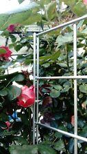 Rankgitter Rankhilfe Spalier Steckzaun Edelstahl 180 x 70 cm für Kletterpflanzen