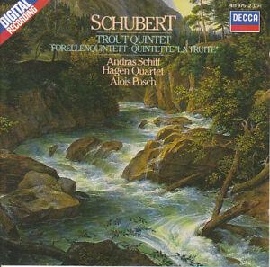 Schubert: 'Trout Quintet', etc.; Andras Schiff; Hagen Quartet; Alois Posch    CD