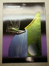 "Manhattan Golf 17"" Notebook Laptop Computer Skin Decal (Limited Edition) 475808"