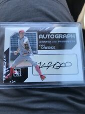 2011 ITG Heroes & Prospects  Kyle Drabek Silver Autograph