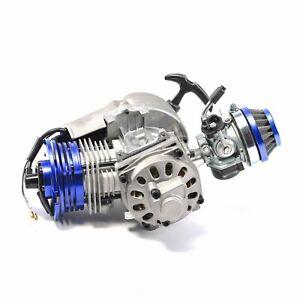 2 Stroke HP Racing Engine Motor 49cc 47cc 50cc Pocket/Quad/Dirt Bike Pull Start