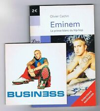 EMINEM 1 TRACK CD SINGLE (PROMO France) BUSINESS+BOOK