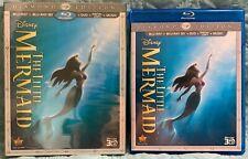The Little Mermaid (Blu-ray 3D + Blu-ray + DVD, 3-Disc Set Diamond Edition)