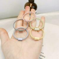 2020 Women Ponytail Rope Girls Elastic Hair Ring Hair NEW Ladies Bands Gift O3O1