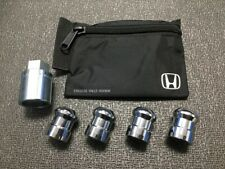 Genuine Honda Wheel Lock Set OEM! NEW! 08W42-SCV-101 - 1 key, 4 locks, lock bag
