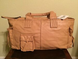 "HYPE ""DAKOTA"" Soft Leather HANDBAG Size: MEDIUM - LARGE New SHIP FREE Satchel"