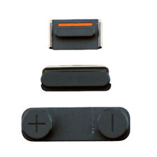Apple Black Mobile Phone Buttons