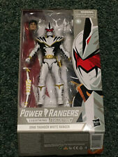 Power Rangers Lightning Collection DIno Thunder White with Replacement Head