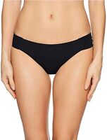 Trina Turk 256105 Women's Shirred Side Pant Bikini Bottom Swimwear Black Size 4