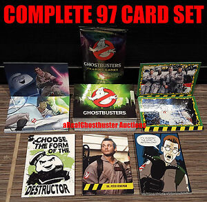 2016 Cryptozoic Ghostbusters Complete 97 Card Set - Base Set & 5 Subsets
