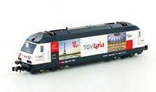 * Kato Scala N 137120 E-Lok Re4/4 460 TGV Lyria SBB Ep.VI-V - Spur N - NEU OV194