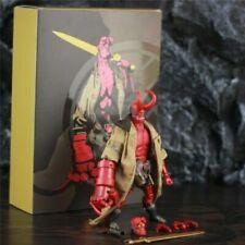 "Hellboy Anung Un Rama 1/12 6"" Action Figure Cloth Gown Sword Gun KO 1000toys NB"