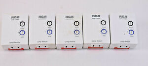 RCA Lot of 5: Home Control White 2-Prong Lamp Modules #HC10LM