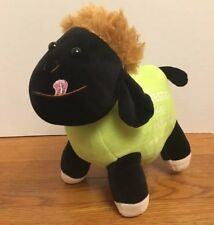 Westin Ningbo Plush Stuffed Black sheep Lamb rare China green brown hair hotel