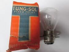 NOS Tung-Sol  Vintage 12 Volt Headlight Flanged Bulb Harley Panhead Knucklehead