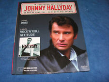 JOHNNY HALLYDAY ROCK N ROLL ATTITUDE COLLECTION OFFICIELLE CD COLLECTOR + LIVRET