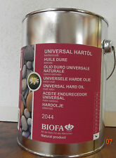 Biofa Universal Hartöl 2044 2,5 l für ca.40m² Bioöl Naturfarbe Holzöl Boden+Möb