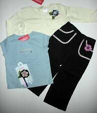 NWT Gymboree Chelsea Girl Charming 3D Tee Cord Pants Hair Clip 4pc Set Lot 2T