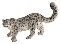 Papo Wild Animal Action Figures Kingdom Figure, Snow Leopard