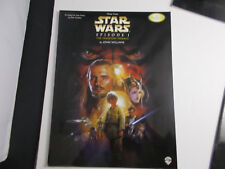 * Star Wars Songbook-episode 1-Easy Piano with Poster Unused