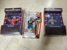 LOT OF 3 WWE HORNSWOGGLE SERIES 30 + ric flair & shawn michaels
