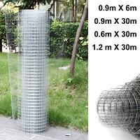 Galvanised Chicken Wire Mesh Netting Rabbit Cage Aviary Fence Plant Net