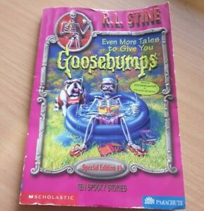 Goosebumps even more tales to give you ten spooky stories special edition #3