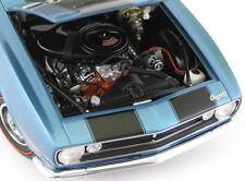 1 Z28 Camaro 1967 Chevy Vintage Sport Race Car Rare Carousel Blue Metal Model 18