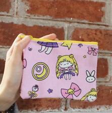 sailor moon  canvas coin bag handbag money storage bag bags new
