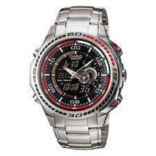 Casio Men's Chronograph Watch, Stainless Steel, 10 ATM, EFA-121D-1AVEF