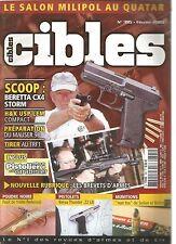 CIBLES N°395 BERETTA CX4 STORM / H&K USP LEM COMPACT / MAUSER 98 / TIRER AU FRF1