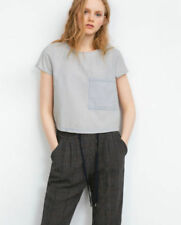 8ebaf3be90281 Zara Cropped Tops   Shirts for Women for sale