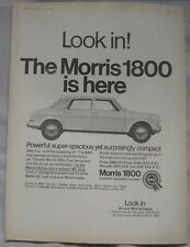 1966 Morris 1800 Original advert No.2