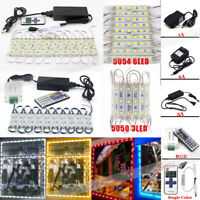 5050 SMD Module Lights Store Front Window Billboard Decor Sign Lamps+Power Kits
