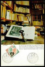 Spain MK 1966 Cervantes Don Quijote Chisciotte carte MAXIMUM CARD MC cm z1731