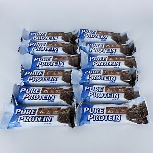 Pure Protein Bar Chocolate Deluxe Bars 12 Ct Shipped W Cold Pack